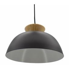 Φωτιστικό Οροφής Μεταλλικό Μαύρο - Ξύλο 783915 28,5x18-80εκ Ankor