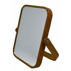 Καθρεφτάκι Επιτραπέζιο Ορθογώνιο Διπλό Καφέ 782062 14x18εκ Ankor