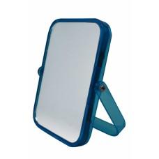 Καθρεφτάκι Επιτραπέζιο Ορθογώνιο Διπλό Μπλε 782086 14x18εκ Ankor