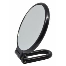 Καθρέφτης Επιτραπέζιος Στρογγυλός Διπλός Μαύρος 787593 25εκ Ankor