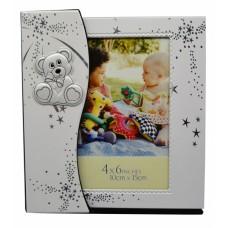 Άλμπουμ Παιδικό Εκρού Ασημί PBZ8-PH1 48 Θέσεις Για Φωτογραφίες 10x15εκ - Ankor