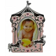 Κορνίζα Επάργυρη Παιδική Καρουζέλ 769414 Για Φωτογραφία 10x15εκ - Ankor