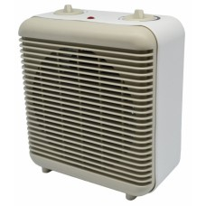 Αερόθερμο - Ankor 2000W 2 Ταχύτητες Θερμοστάτης Μπεζ - Άσπρο IP21 784028 20x12x23υψ