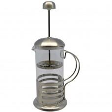 Καφετιέρα Ατομική Ανοξείδωτη - Γυάλινη 350ml 750863 Ankor