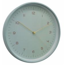 Ρολόι Τοίχου Πλαστικό Στρογγυλό Βεραμάν 790791 Φ25,5x4,3εκ - Ankor