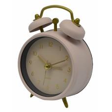 Ξυπνητήρι Μεταλλικό Αθόρυβο Ροζ 790562 8,3x4x11,8υψ Ankor