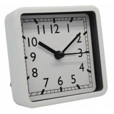 Ξυπνητήρι Πλαστικό Αθόρυβο Άσπρο 790630 8,3x3,9x8,3υψ Ankor