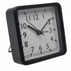 Ξυπνητήρι Πλαστικό Αθόρυβο Μαύρο 790647 8,3x3,9x8,3υψ Ankor