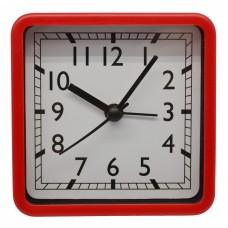 Ξυπνητήρι Πλαστικό Αθόρυβο Κόκκινο 790654 8,3x3,9x8,3υψ Ankor