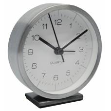 Ξυπνητήρι Αλουμινίου Αθόρυβο Ασημί 790661 9,1x4x9,7υψ Ankor