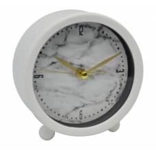 Ξυπνητήρι Πλαστικό Αθόρυβο Άσπρο 790692 9,5x4x9,5υψ Ankor