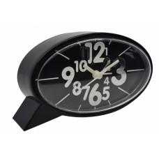 Ξυπνητήρι Πλαστικό Αθόρυβο Μαύρο 790722 14,1x4,1x7,7υψ Ankor