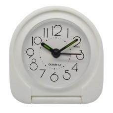 Ξυπνητήρι Πλαστικό Αναδιπλούμενο Άσπρο 790739 7,8x2x7,5υψ Ankor