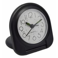 Ξυπνητήρι Πλαστικό Αναδιπλούμενο Μαύρο 790746 7,8x2x7,5υψ Ankor