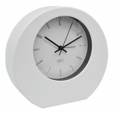 Ξυπνητήρι Πλαστικό Αθόρυβο Άσπρο Επιτοίχιο Και Επιτραπέζιο 790777 18,2x5,2x17υψ Ankor