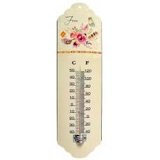 Θερμόμετρο Τοίχου Μεταλλικό 792931 31εκ Ankor