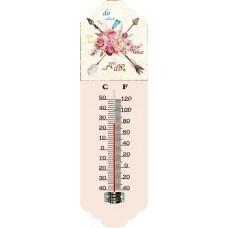 Θερμόμετρο Τοίχου Μεταλλικό 792948 31εκ Ankor