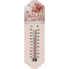 Θερμόμετρο Τοίχου Μεταλλικό 792955 31εκ Ankor