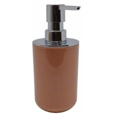 Σαπουνοθήκη Dispenser Μπάνιου Πλαστικό Σομόν 793716 Φ7,5x16,5υψ Ankor