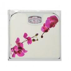 Ζυγαριά Μπάνιου Μηχανική Λουλούδι 1066050400 24,3x26,8x4,2υψ Ankor
