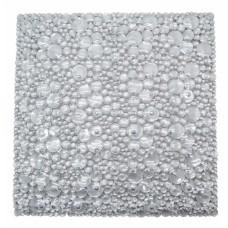 Πατάκι Ντουζιέρας Αντιολισθητικό Διαφανές Βότσαλα 793969 50x50εκ Ankor