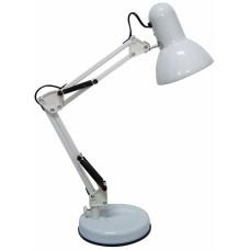 Φωτιστικό Γραφείου Μεταλλικό Άσπρο Διπλός Βραχίονας 40W 790845 57εκ Ankor