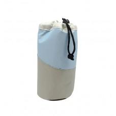Ισοθερμική Θήκη Για Μπουκάλι 0,5lt Γκρι - Γαλάζιο 789283 Φ9x20υψ Ankor