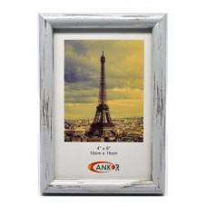 Κορνίζα Πλαστική PW8039-4 Για Φωτογραφία 10x15εκ Ankor