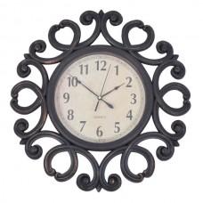 Ρολόι Τοίχου Πλαστικό Αντικέ Φ51εκ 795857 Ankor