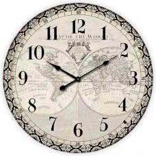 Ρολόι Τοίχου Ξύλινο Φ58εκ 796731 Ankor