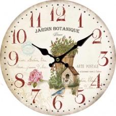 Ρολόι Τοίχου Ξύλινο Φ34εκ 796755 Ankor
