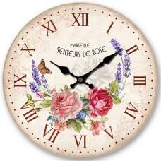Ρολόι Τοίχου Ξύλινο Φ34εκ 796779 Ankor
