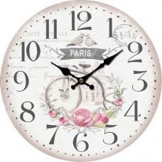 Ρολόι Τοίχου Ξύλινο Φ34εκ 796786 Ankor