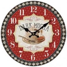 Ρολόι Τοίχου Ξύλινο Φ34εκ 796830 Ankor