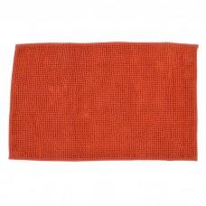 Πατάκι Μπάνιου Πολυέστερ 1000gsm 50x80εκ Πορτοκαλί 798629 Ankor