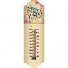 Θερμόμετρο Μεταλλικό Τοίχου 9,5x2x31υψ 795369 Ankor