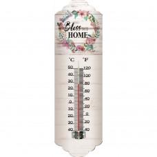 Θερμόμετρο Μεταλλικό Τοίχου 9,5x2x31υψ 795376 Ankor