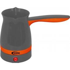 Μπρίκι Ηλεκτρικό 1000W Γκρι - Πορτοκαλί 400ml K-800650 Ankor