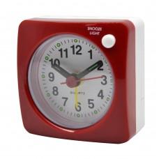Ξυπνητήρι Πλαστικό Κόκκινο 6x3x6υψ 799657 Ankor