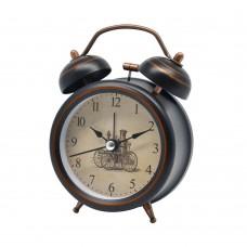 Ξυπνητήρι Μεταλλικό Καφέ - Χάλκινο 9x4,5x12,5υψ 799787 Ankor
