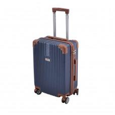 Βαλίτσα - Τρολλέυ Ταξιδίου Πλαστική Abs Μπλε 4 Ρόδες 70εκ 798803 Ankor