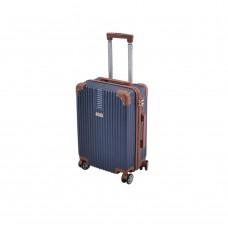 Βαλίτσα - Τρολλέυ Ταξιδίου Πλαστική Abs Μπλε 4 Ρόδες 60εκ 798803 Ankor
