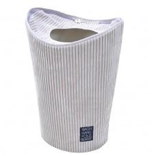 Καλάθι Απλύτων Υφασμάτινο Γκρι Κοτλέ 38x32x60υψ 805082 Ankor