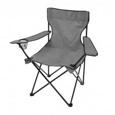 Καρέκλα Καμπινγκ Πτυσσόμενη Γκρι 82x50x80υψ 805495 Ankor