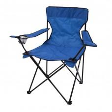 Καρέκλα Καμπινγκ Πτυσσόμενη Μπλε 82x50x80υψ 805471 Ankor