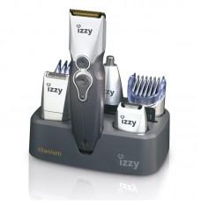Κουρευτική Μηχανή Σετ Ανδρικής Περιποίησης 9 σε 1 PG100 Titanium Izzy 211690