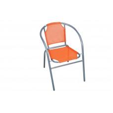 Πολυθρόνα Με Γκρι Σκελετό Και Πορτοκαλί Textline OEM CH-ZSI1046-0