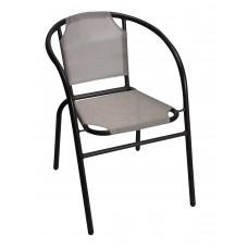 Πολυθρόνα Με Μαύρο Σκελετό Και Σαμπάνι Textline OEM CH-ZS1046BL-CH