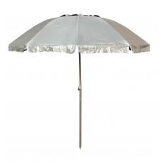 Ομπρέλα Θαλάσσης Αλουμινίου 2m Ηλιοπροστασία Γκρι Χρώμα EPAM 03.ULA-13118