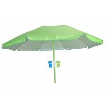 Ομπρέλα Θαλάσσης 2m Με Ηλιοπροστασία PVC Θήκη 03.ULA-1503 - Πράσινη